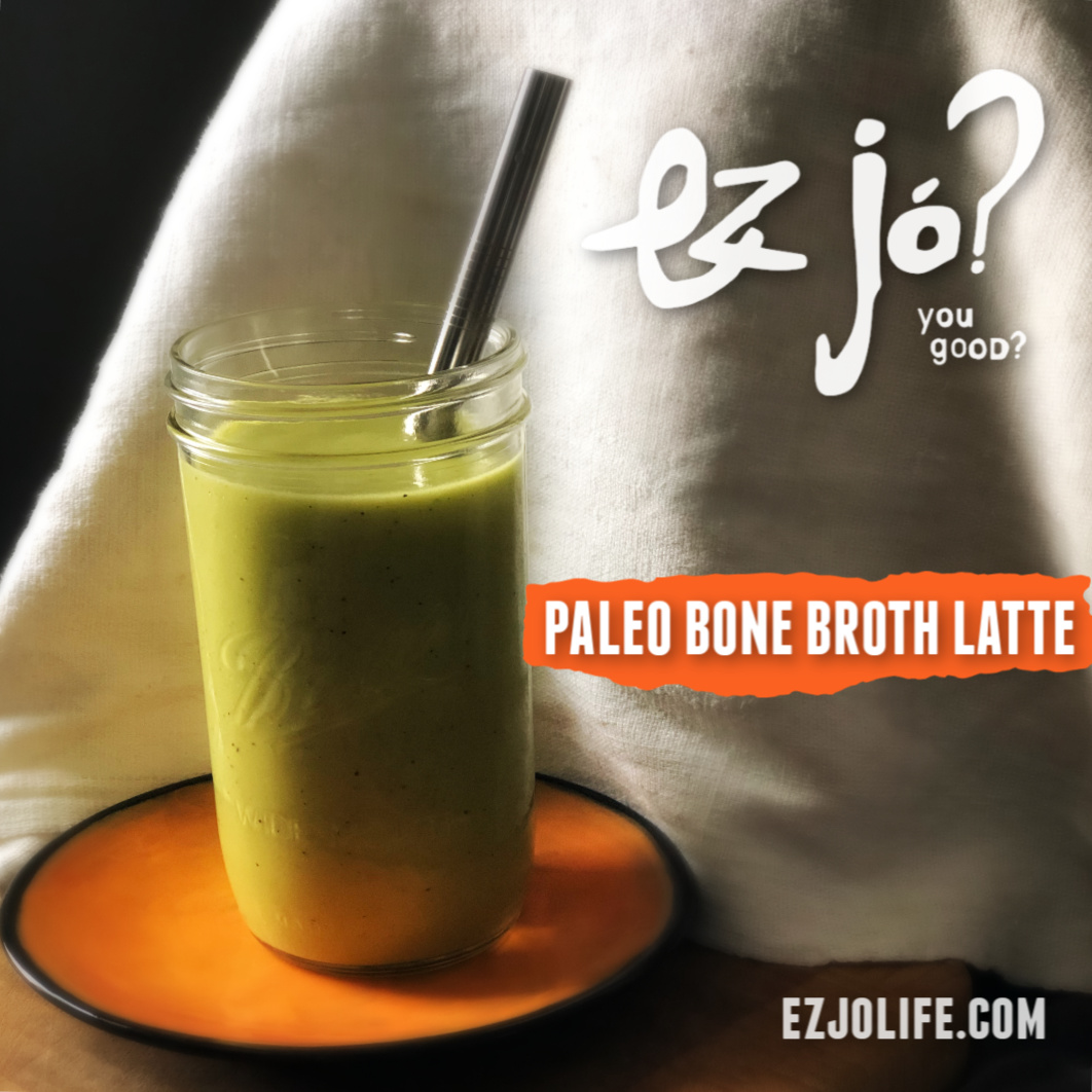 Paleo Bone Broth Latte